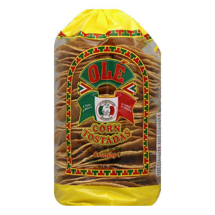 Ole Mexican Corn Tostadas, 12.4 OZ (Pack of 6)