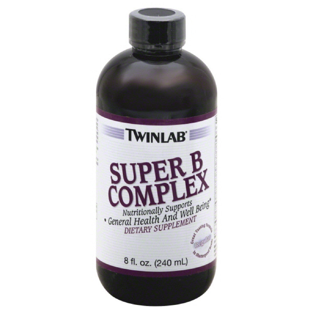 TwinLab Regular Super B-Complex, 8 Oz