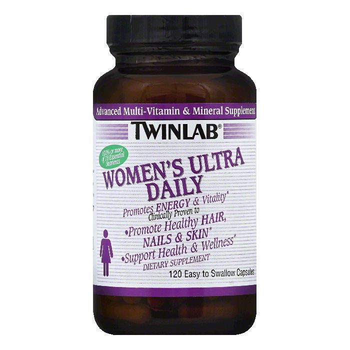 TwinLab Capsules Women's Ultra Daily, 120 ea