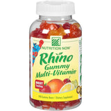 Nutrition Now Rhino Gummy Multi-Vitamin 190 ct. Plastic