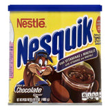 Nesquik Chocolate Flavor Powder Drink Mix, 14.1 OZ (Pack of 12)