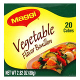 Maggi Veggie Bouillon Cube, 2.82 OZ (Pack of 12)