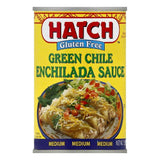 Hatch Medium Gluten Free Green Chile Enchilada Sauce, 15 OZ (Pack of 12)