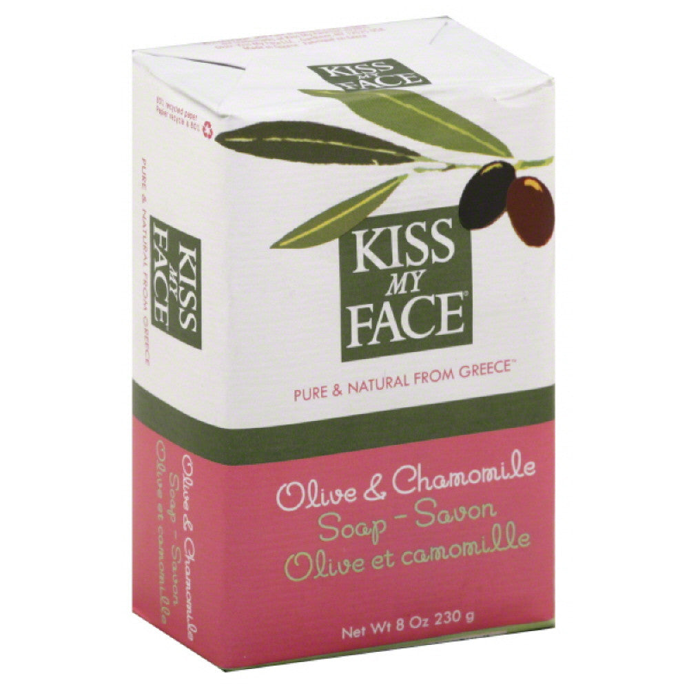 Kiss My Face Olive & Chamomile Soap, 8 Oz