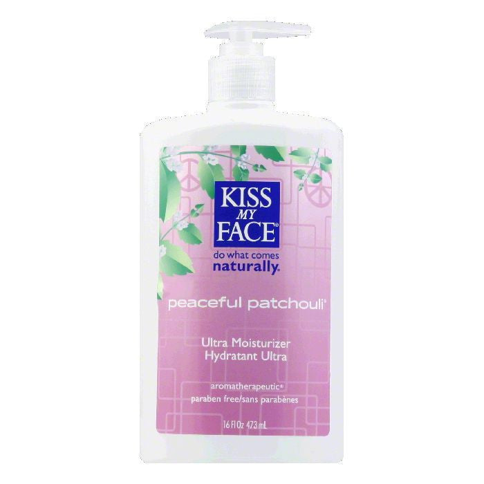 Kiss My Face Moisturizer Patchouli, 16 OZ