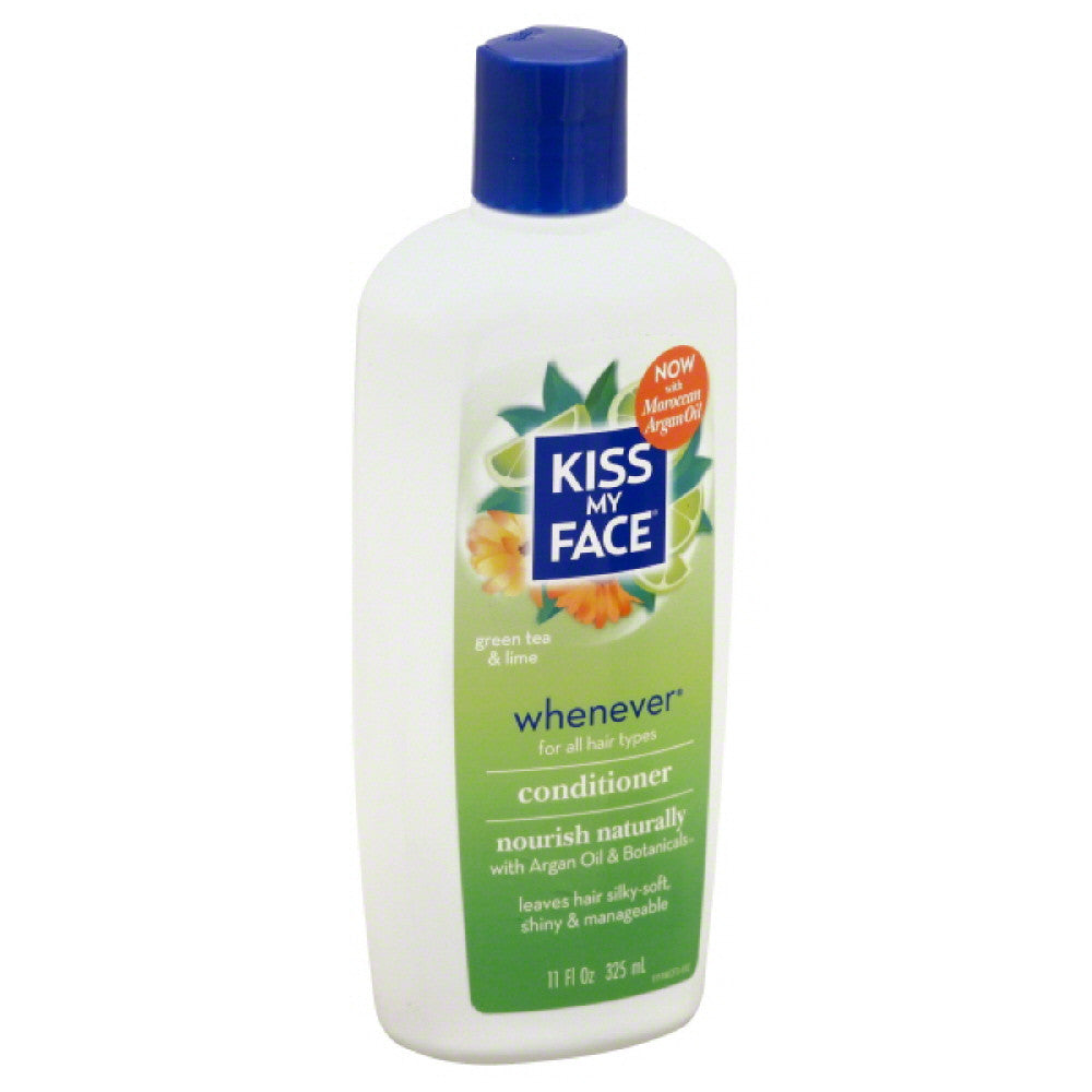 Kiss My Face Green Tea & Lime Whenever Conditioner, 11 Oz