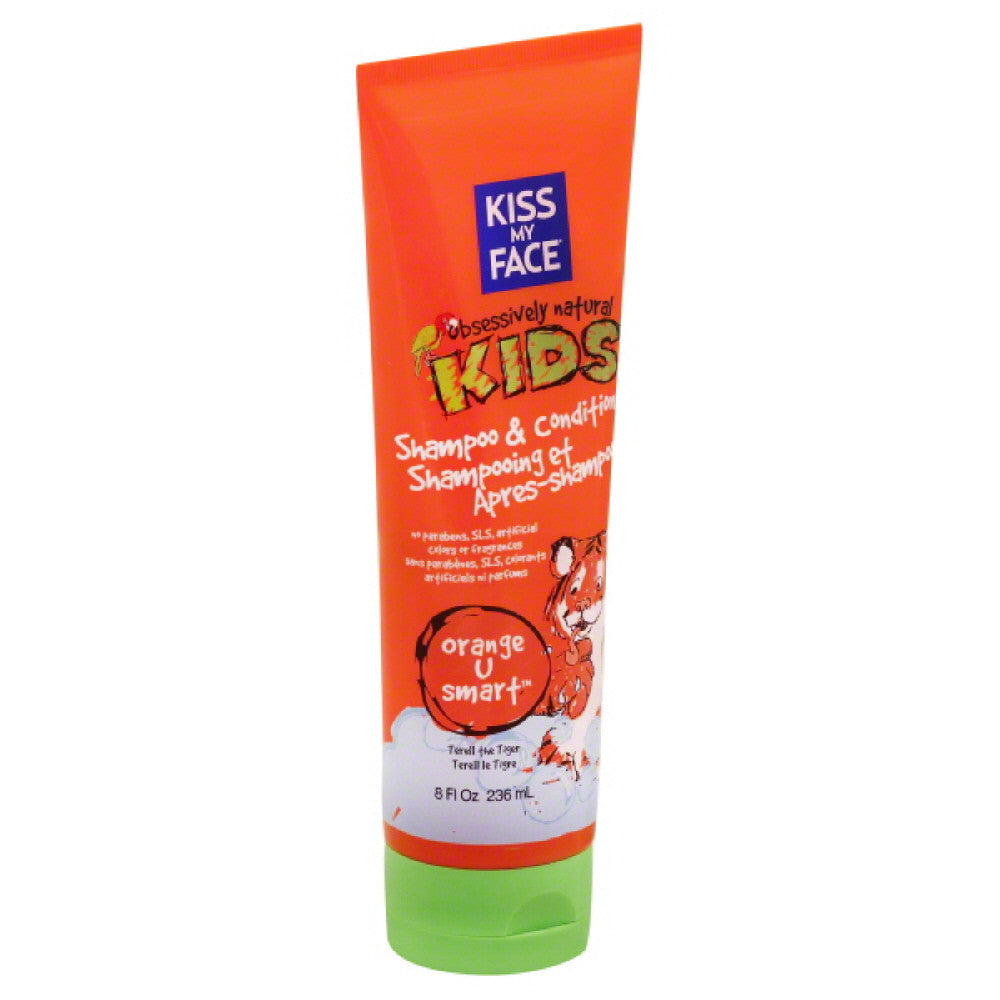 Kiss My Face Orange U Smart Shampoo & Conditioner, 8 Oz