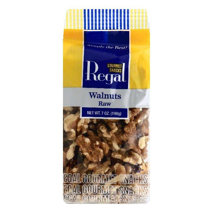 Regal Raw Walnuts, 7 OZ (Pack of 8)