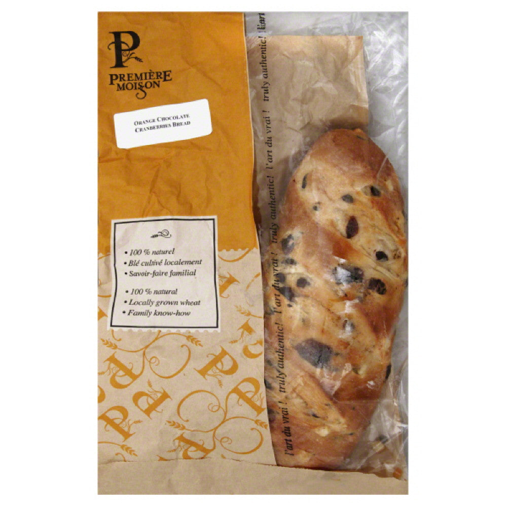 Premiere Moisson Orange Chocolate Cranberries Bread, 1 Ea