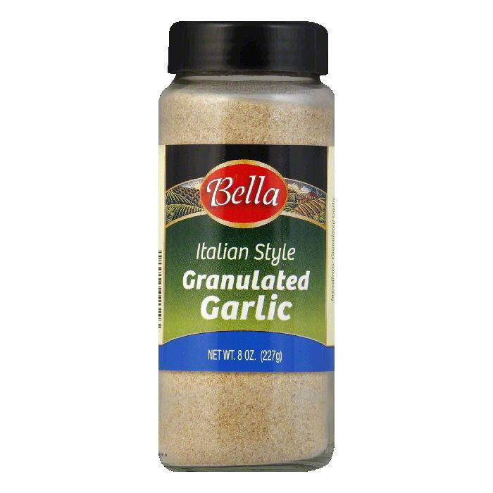 Bella Granulated Garlic, 8 OZ (Pack of 12)