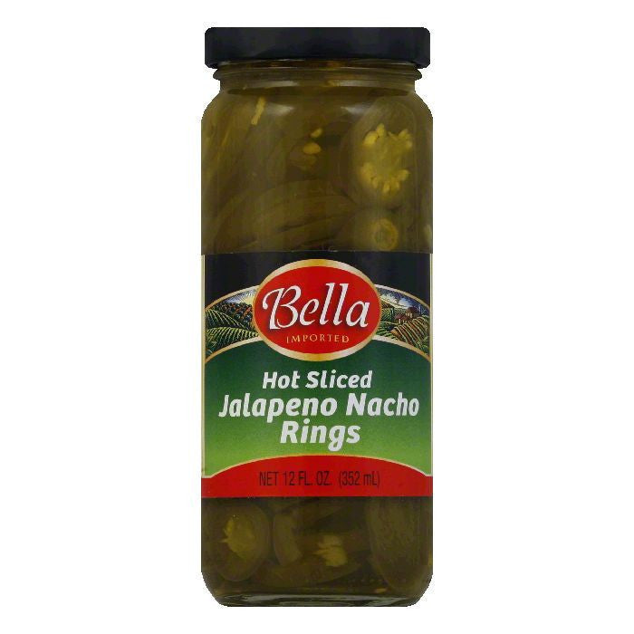 Bella Jalapeno Nacho Rings, 12 OZ (Pack of 12)