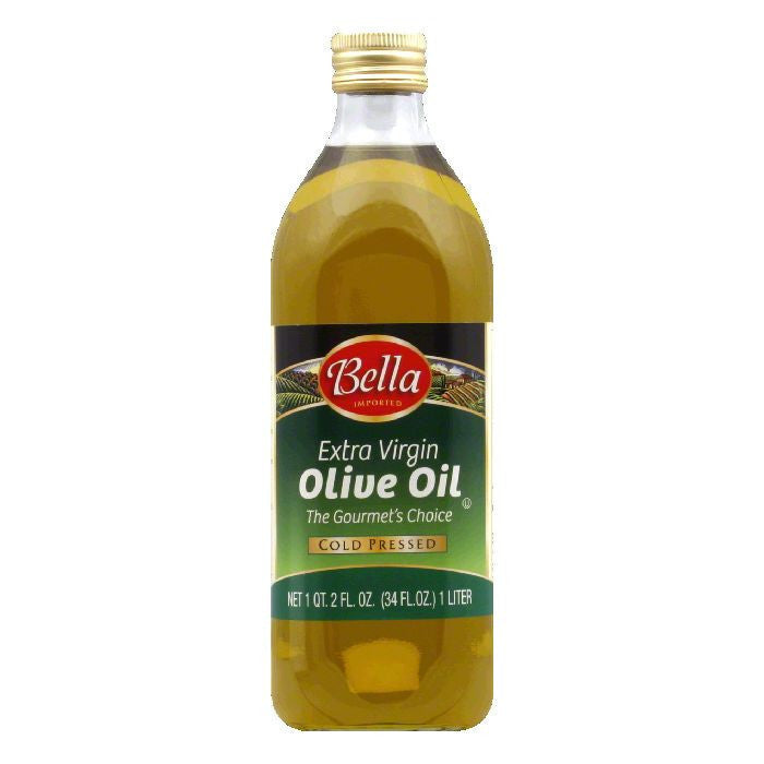 Bella Extra Virgin Olive Oil, 34 OZ (Pack of 6)