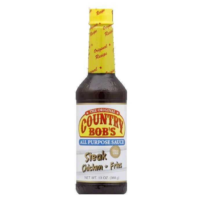 Country Bob's Edson Sauce, 13 OZ (Pack of 12)