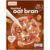 Mother's Toasted Oat Bran Cereal 12.5 Oz  (Pack of 6)