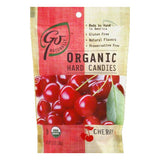 Go Naturally Gluten Free Organic Cherry Hard Candy, 3.5 OZ (Pack of 6)
