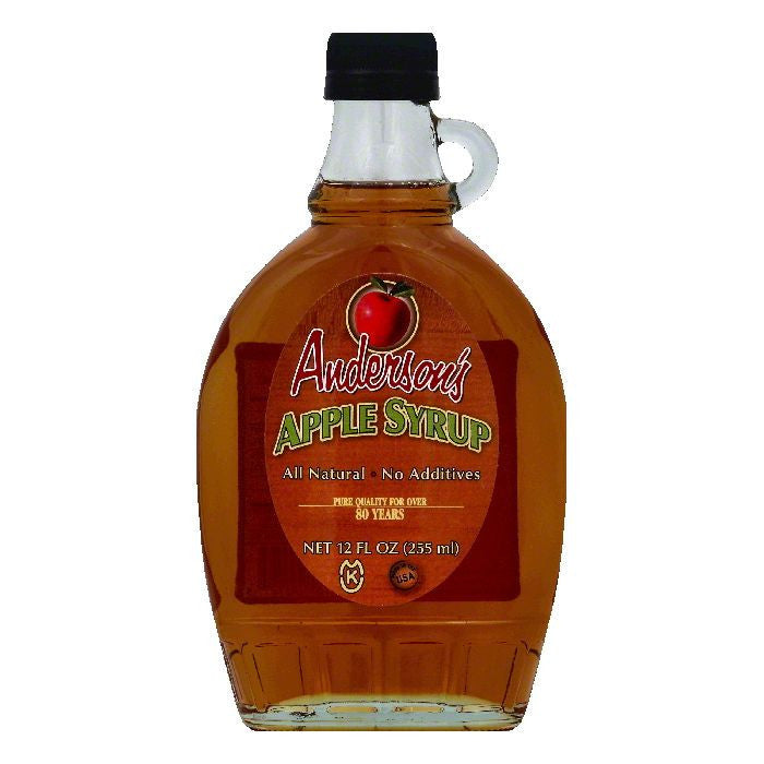 Andersons Apple Syrup, 12 OZ (Pack of 6)