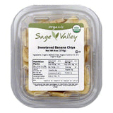 Sage Valley Chip banana swt, 6 OZ (Pack of 6)