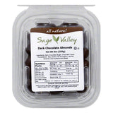 Sage Valley Nut almond choc drk, 9 OZ (Pack of 6)