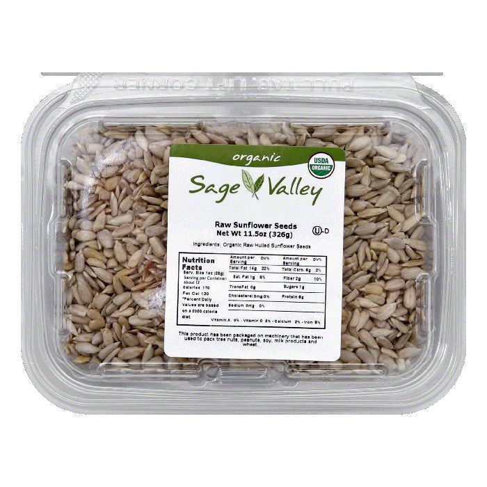 Sage Valley Usa.seed snflwr hlld raw, 11.5 OZ (Pack of 6)