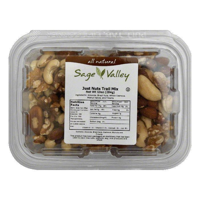 Sage Valley Mix just nuts, 10 OZ (Pack of 6)