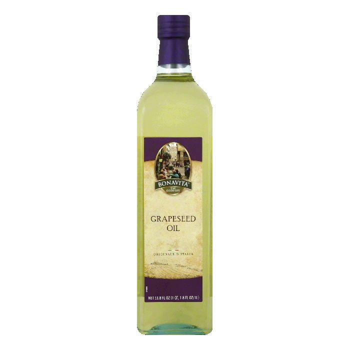 Bonavita Grapeseed Oil, 34 FO (Pack of 6)