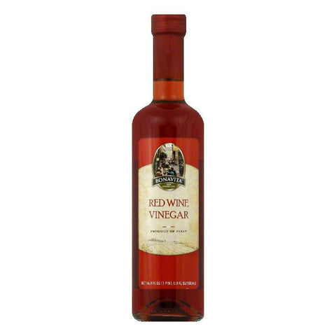 Bonavita Red Wine Vinegar, 16.9 FO (Pack of 6)