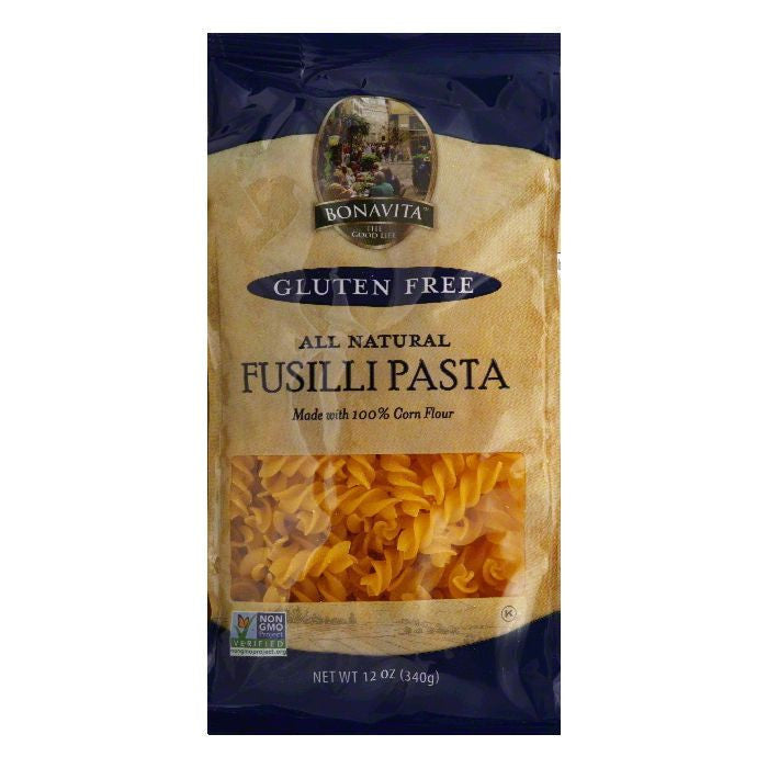 Bonavita Fusilli Pasta, 12 OZ (Pack of 6)