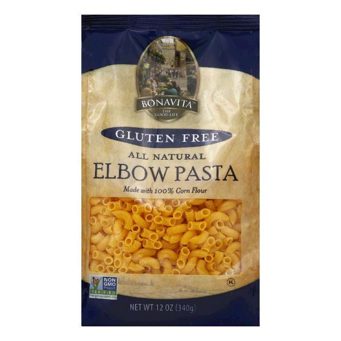 Bonavita Elbow Pasta, 12 OZ (Pack of 6)