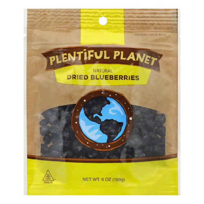 Plentiful Planet Blueberry Fruit Bag, 6 OZ (Pack of 6)
