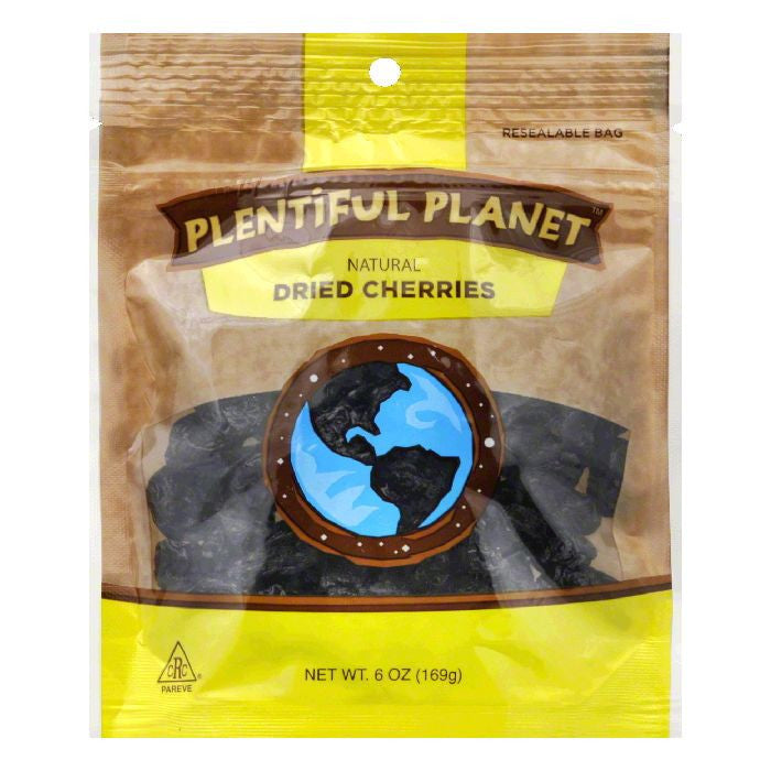 Plentiful Planet Cherry Fruit Bag, 6 OZ (Pack of 6)