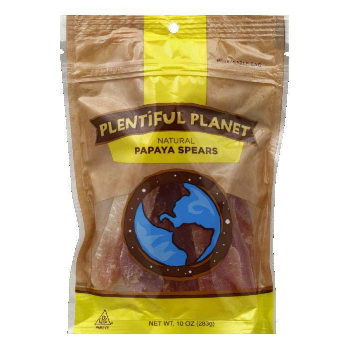 Plentiful Planet Papaya Spear Fruit Bag, 10 OZ (Pack of 6)