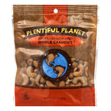 Plentiful Pantry Nut Cashew 320 Roasted and Salted Bag, 6 OZ (Pack of 6)