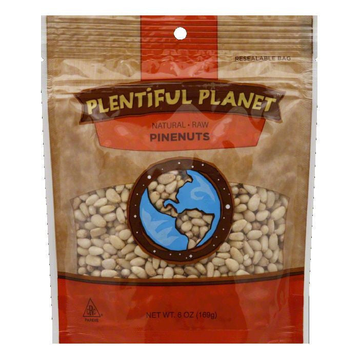 Plentiful Planet Nut Pine Raw Bag, 6 OZ (Pack of 6)