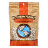Plentiful Planet Seed Sunflower Raw Bag, 10 OZ (Pack of 6)