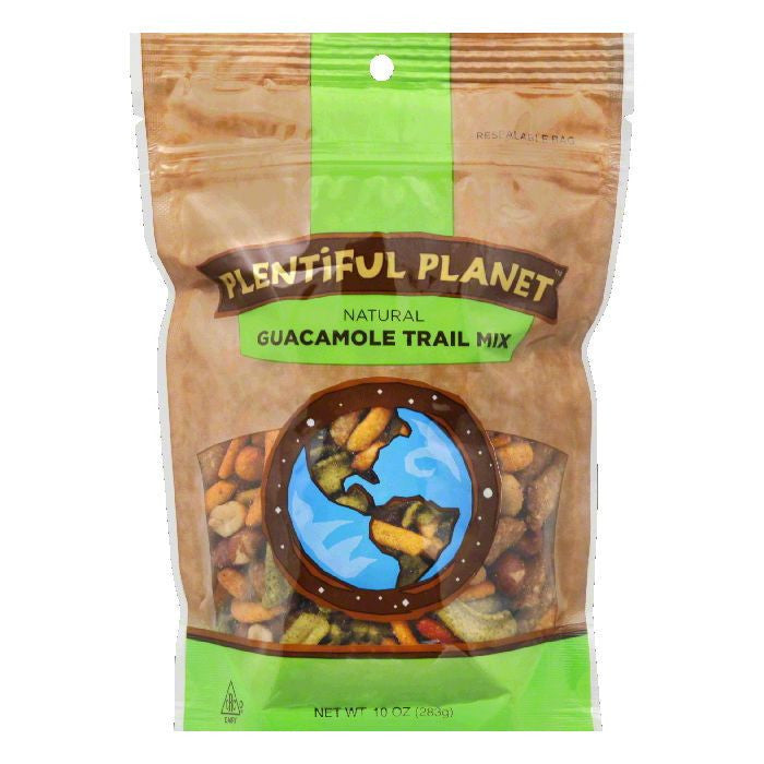 Plentiful Planet Guacamole Trail Mix Bag, 10 OZ (Pack of 6)
