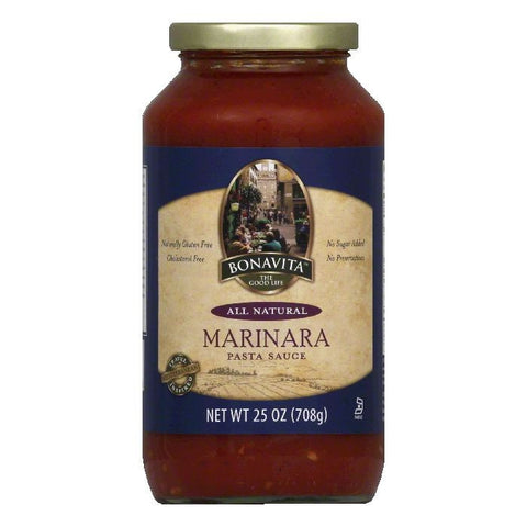 Bonavita Marinara Pasta Sauce, 25 Oz (Pack of 6)