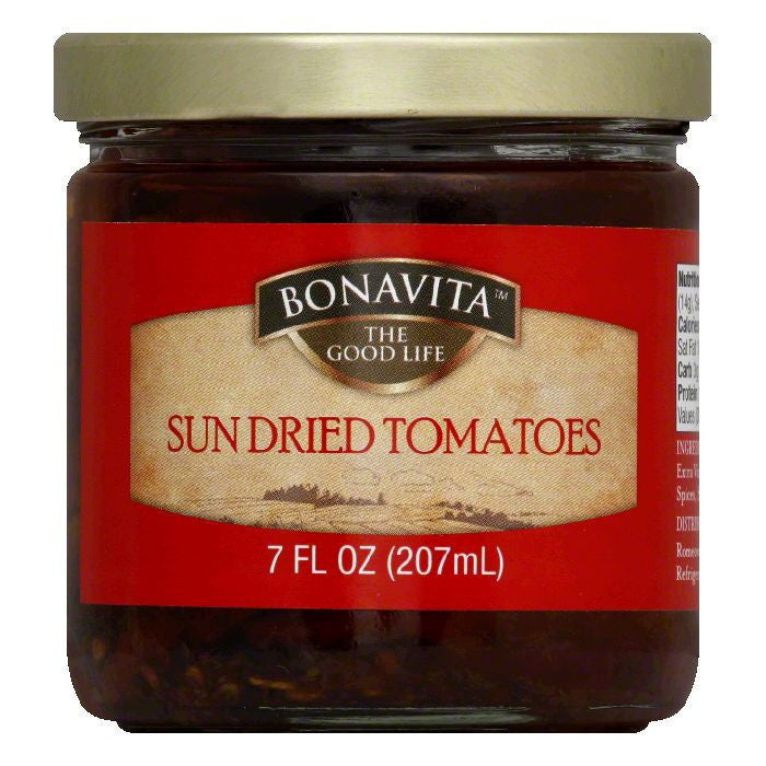 Bonavita Sun Dried Tomato, 7 OZ (Pack of 6)