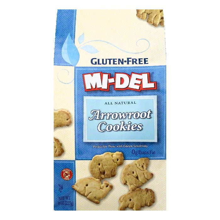 Mi del Arrowroot Cookies, 8 OZ (Pack of 12)