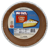 Mi del 9 Inch Ginger Snap Pie Crust, 7.1 Oz (Pack of 12)