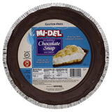 Mi del 9 Inch Chocolate Snap Pie Crust, 7.1 Oz (Pack of 12)