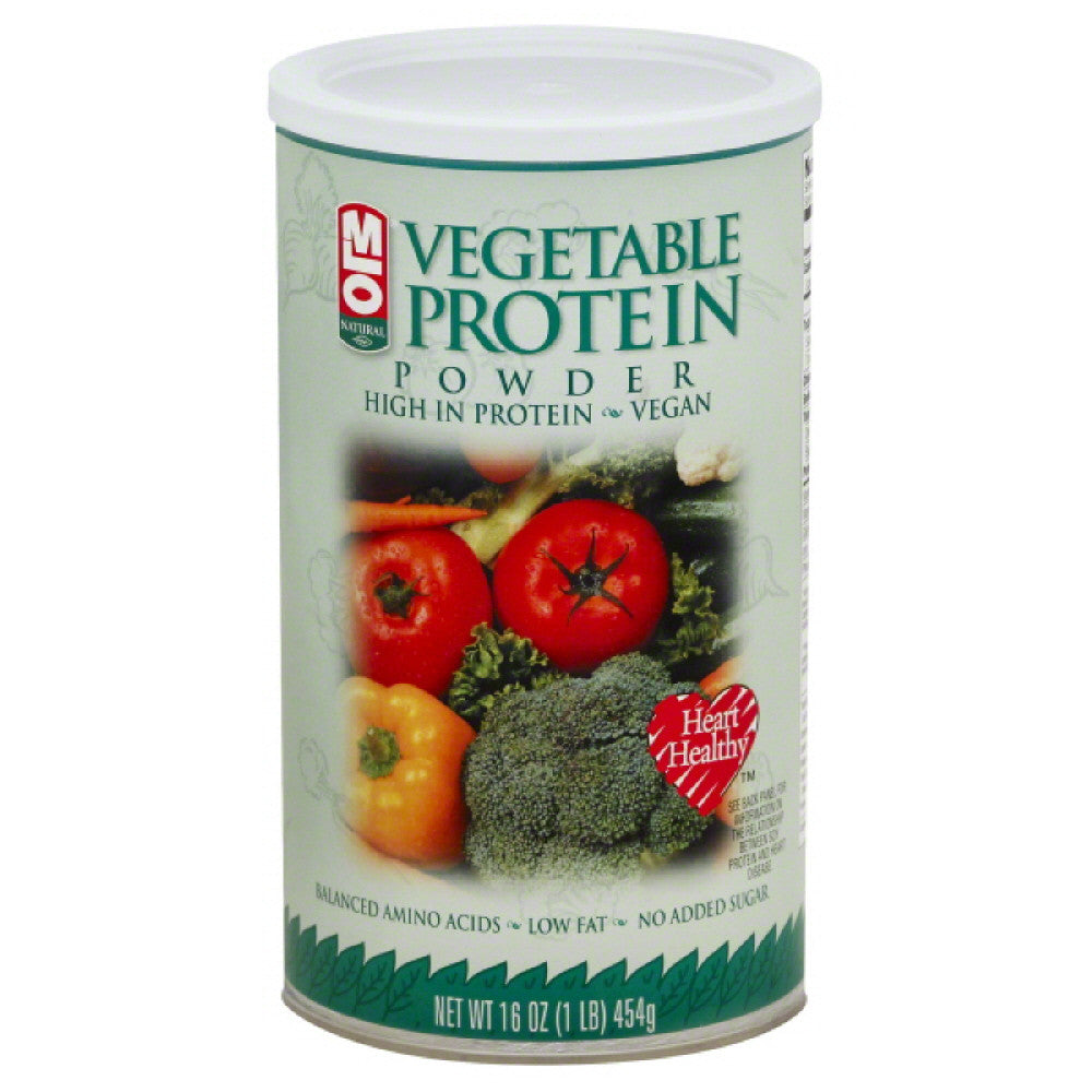 MLO Vegetable Protein Powder, 16 Oz