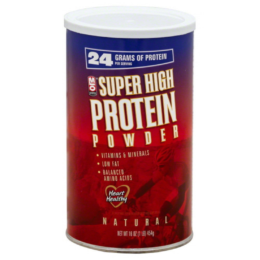 MLO Super High Protein Powder, 16 Oz