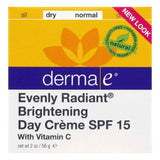 Derma E Dry/Normal SPF 15 Brightening Day Creme, 2 Oz