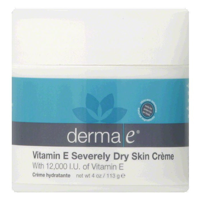Derma E Moisturizing Cream Vitamin E 12000 IU, 4 OZ