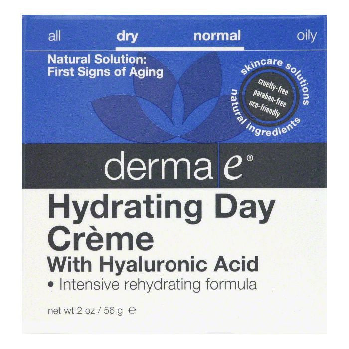 Derma E Dry/Normal with Hyaluronic Acid Hydrating Day Creme, 2 Oz