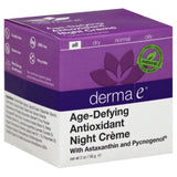Derma E All Age-Defying Antioxidant Night Creme, 2 Oz
