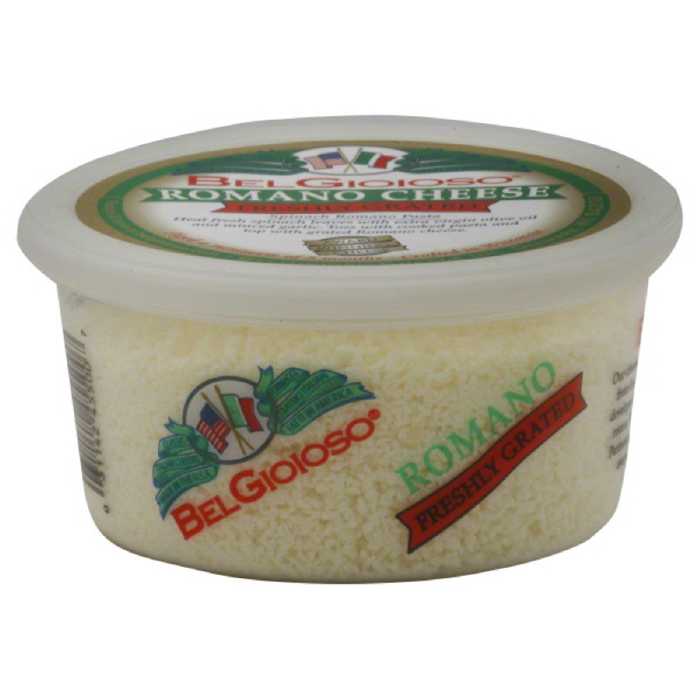 BelGioioso Freshly Grated Romano, 5 Oz (Pack of 12)
