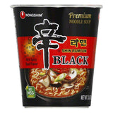 Nong Shim Noodle Cup Black Shin, 3.56  (Pack of 6)