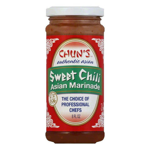 Chuns Marinade Sweet Chili Asian, 8 OZ (Pack of 12)