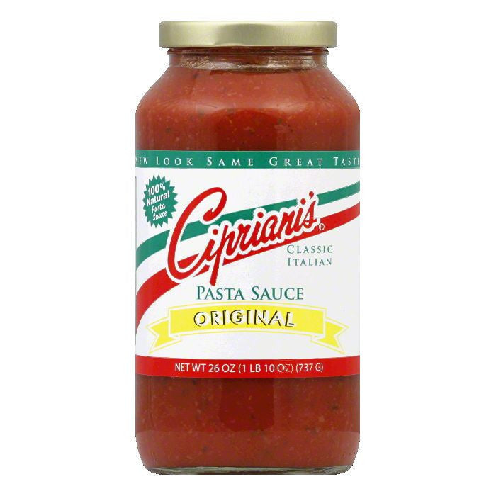 Cipriani's Pasta Original Spaghetti Sauce With Meat, 26 OZ (Pack of 6)